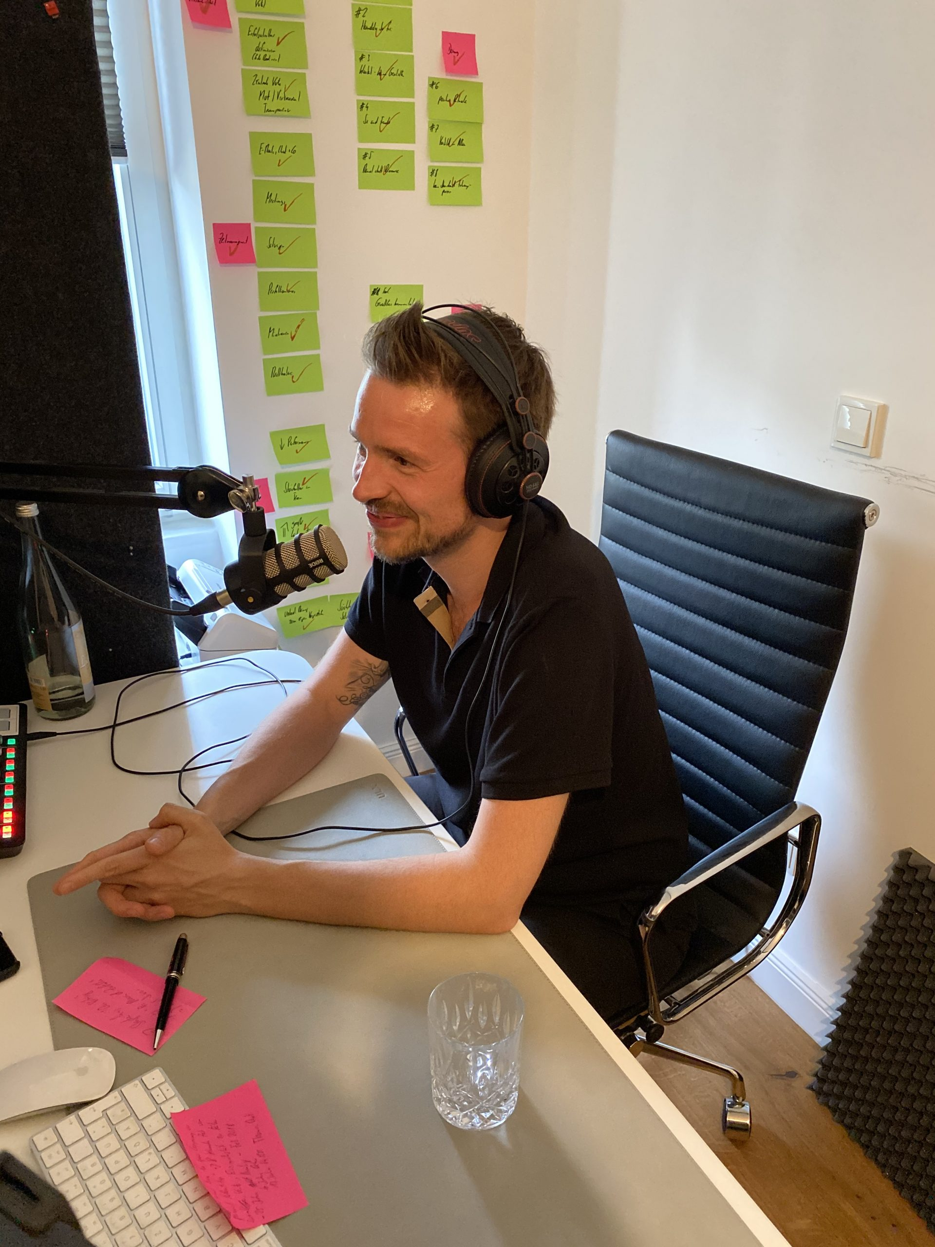 Dr. Juergen Weimann during the podcast interview